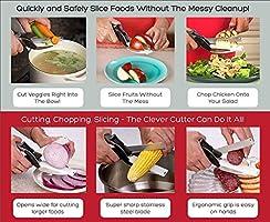 Tijeras de Cocina, Cuchillos de Cocina 2 en 1 Vegetales de ...