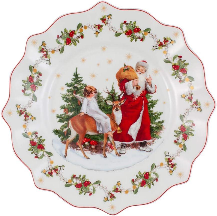 Villeroy & Boch Blanco Annual Christmas Edition Aniversario 2020, Porcelain Premium, 23,5 cm / 0,33 l