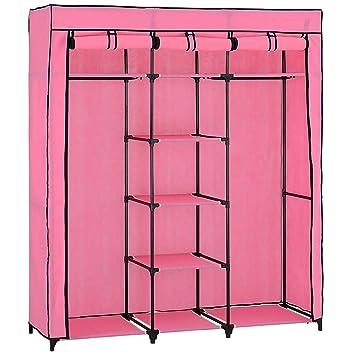 neu.holz] Faltschrank Kleiderschrank (175 x 150cm)(rose-pink ...