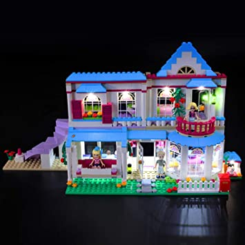 Briksmax Kit De Led Pour Lego Friends La Maison De Stephanie