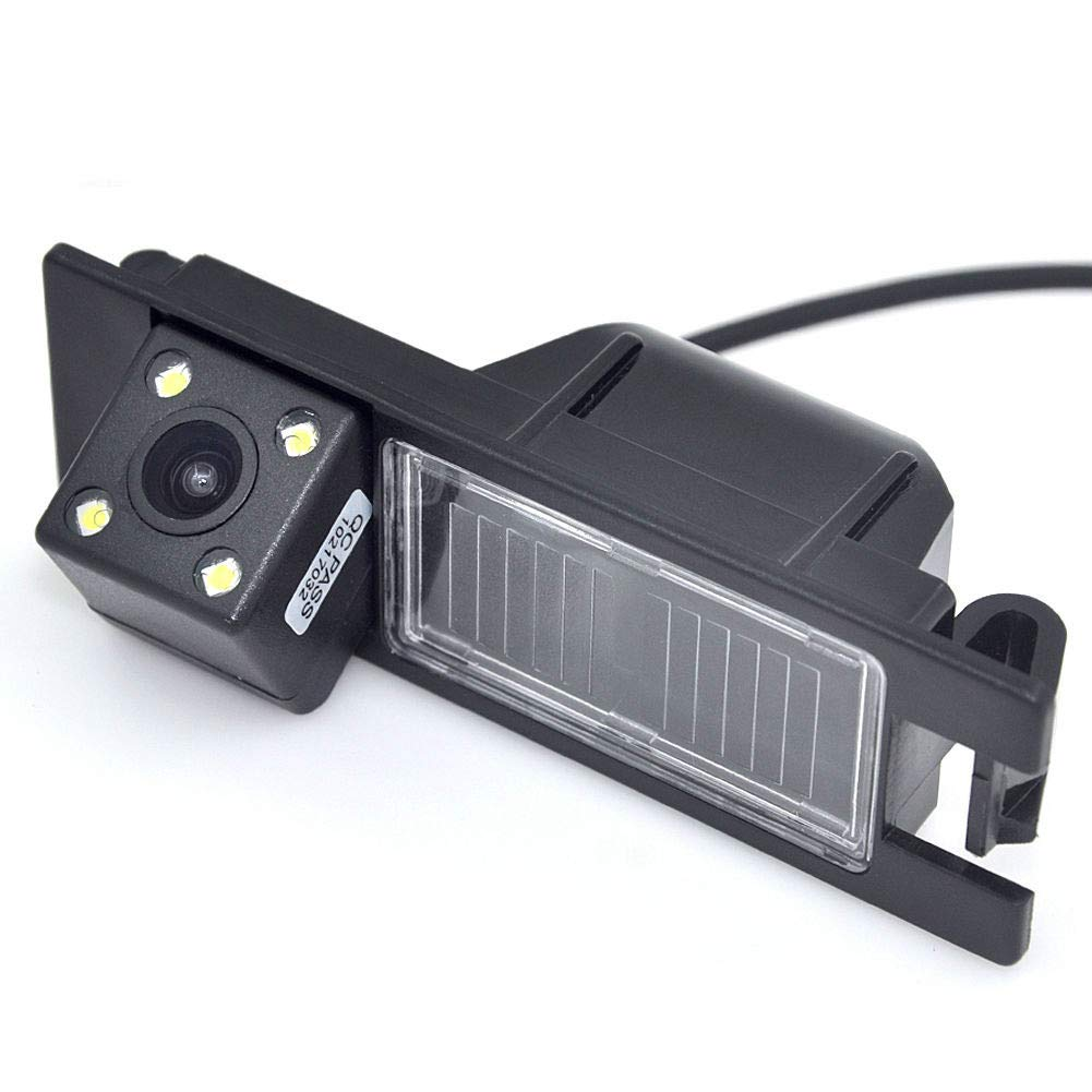 HERCHR Car rear view camera with LED for Alfa Romeo 156 159 166 147 Brera Spider by HERCHR