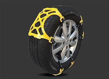 Gears Panda Cadenas de neumáticos para coche, accesorios neumáticos universales Cadenas Antideslizante neumáticos Cadenas de nieve Anti-Skid Cadenas cadena ...