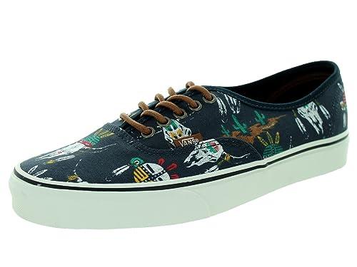 e24397e4caf Vans Authentic Men US 9.5 Blue Athletic Sneakers UK 8.5 EU 42.5  Amazon.co. uk  Shoes   Bags