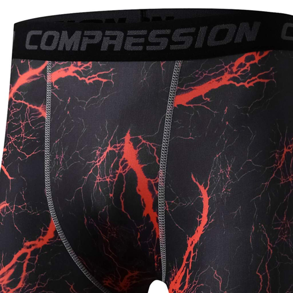 Allywit Compression Shorts Men Quick Dry Black Performance Athletic Shorts S-3XL