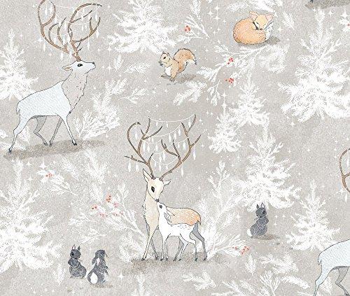 vintage christmas fabric - 9