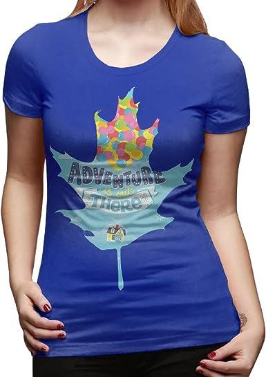 hohoe camiseta de diseño de niña de aventura está ahí fuera azul eléctrico: Amazon.es: Ropa y accesorios