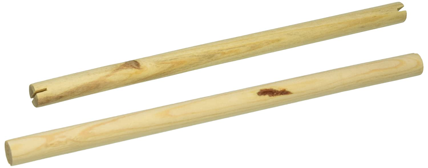 Prevue Pet Products BPV375 2-Pack Birdie Basics Wood Bird Perch, 3/4 by 13-3/8-Inch TopDawg Pet Supply 60000375