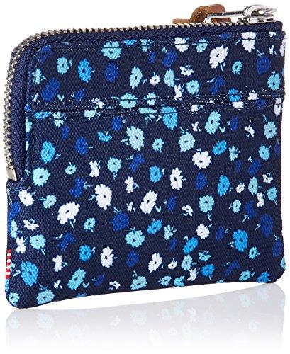 Wallet Rfid Johnny Supply Floral Co Rfid Wallet Herschel mens Mini Peacoat wqXR4I