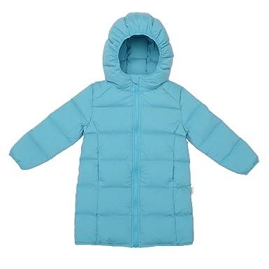 69ad606a99e2 Nanny McPhee Kids Down Coat Unisex Baby Windproof Long Down Puffer ...