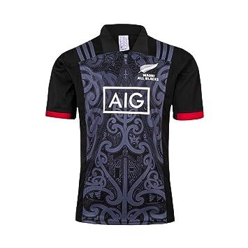 Whdip Team New Zealand, 2019, Coppa del Mondo, Camicie da Uomo Maori all Blacks, Maglia Allenamento Rugby, Camicia Sportiva