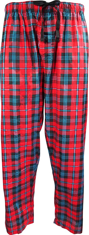 41e9c4f54f Cruiize Mens Classic Warm Button Down Top Bottom Pants Sleepwear ...