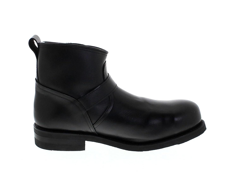 FB Fashion Stiefel Stiefel Stiefel PrimeStiefel 43479 Low Engineer schwarz Engineerstiefelette für Damen und Herren Schwarz Lederstiefelette b6c595