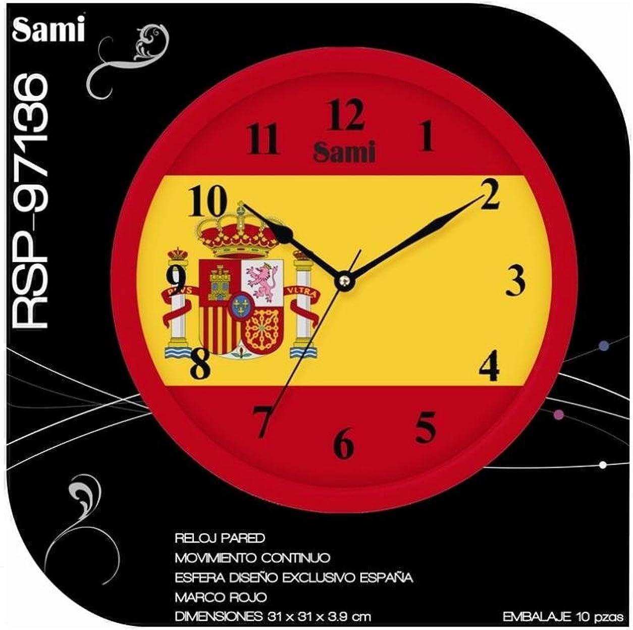 Reloj de pared España: Amazon.es: Relojes