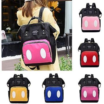 Large Capacity Baby Diaper Bag Backpack, Waterproof Multi-Function Polka Dots Travel Backpack, Nursing Bag, Unisex Out Baby Diaper Tote Bag 1PC