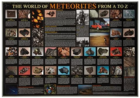 American Educational The World of Meteorites from A to Z Poster, 38