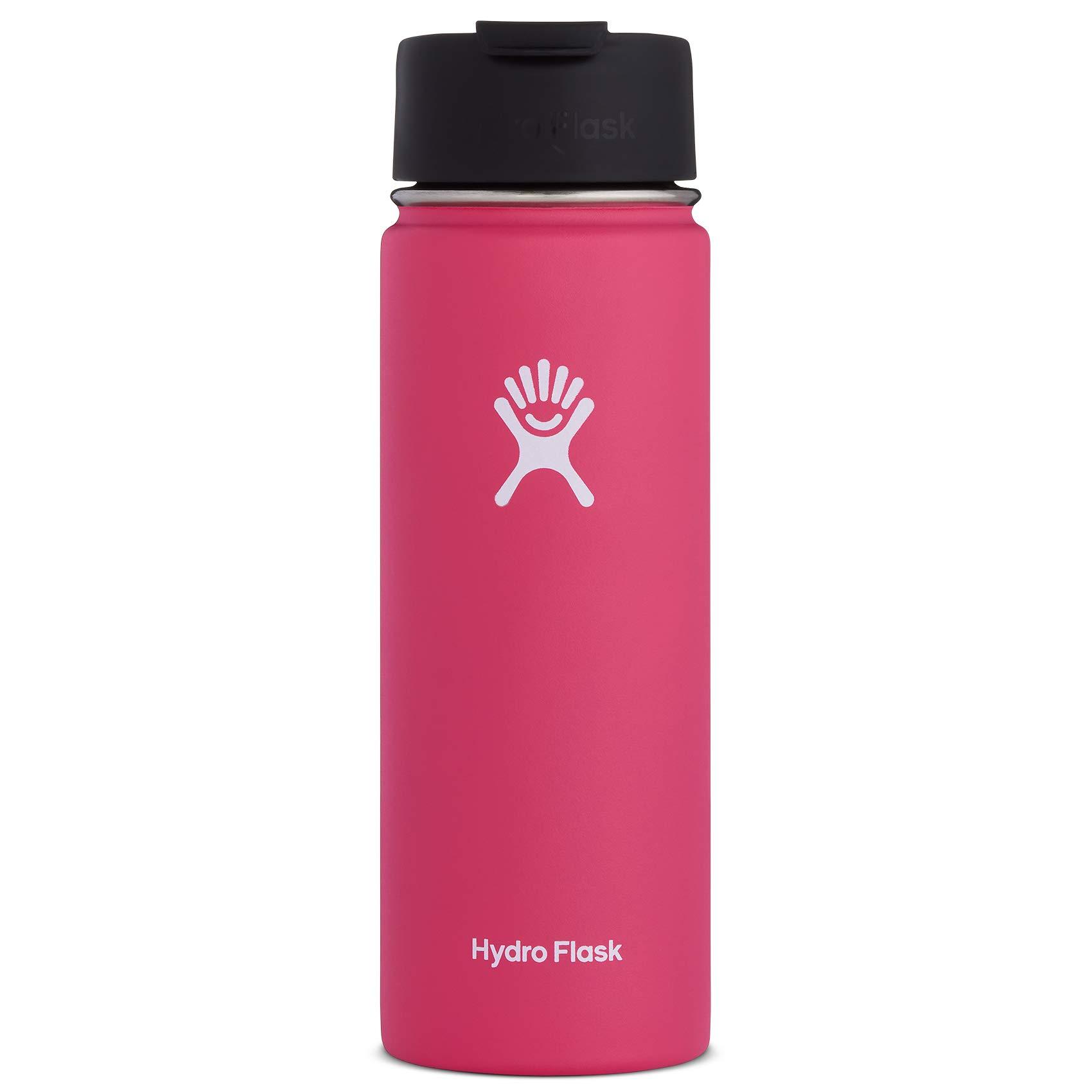 Hydro Flask Travel Coffee Flask, 20 oz, Watermelon by Hydro Flask