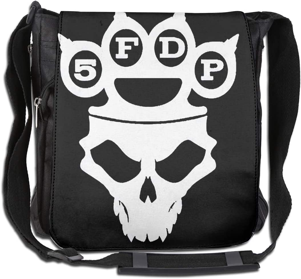 Five Finger DeathStylish and Comfortable Casual Shoulder Crossbody Bag with Large Capacity