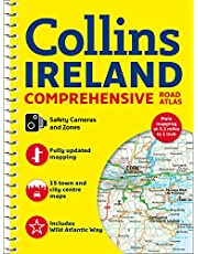 Comprehensive Road Atlas Ireland: A4 Spiral