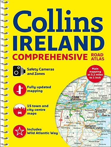 Collins Ireland Comprehensive Road Atlas (Best Pro Touring Cars)