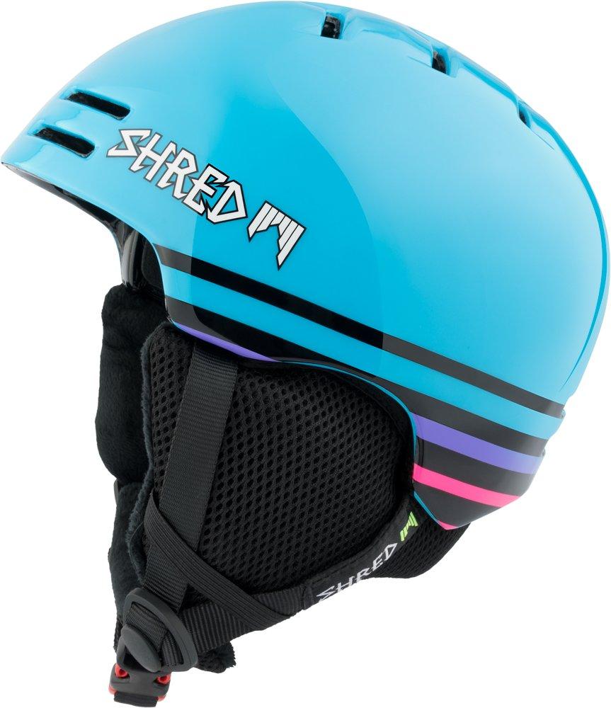 Ski and Snowboard Helmet 53-57 Size XS//M Shred Slam-Cap Dark Fader Purple