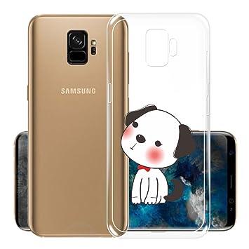 Funda para Samsung Galaxy S9 , IJIA Transparente Adorable ...