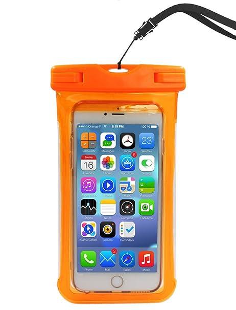 a.g.e.m impermeable teléfono móvil, universal teléfono bolsa con ...