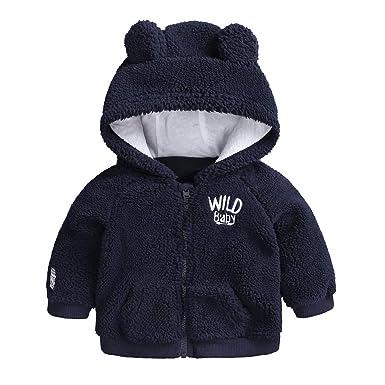 Ropa de Abrigos con Capucha Manga Largas Otoño Invierno para Bebé Niñas 2018 Moda PAOLIAN Chaqueta