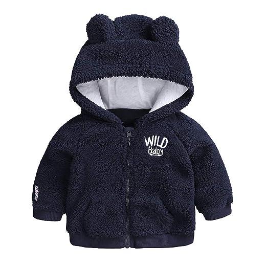 963a385bc Amazon.com  FEITONG Newborn Infant Baby Boys Girl Cartoon Ear Hooded ...