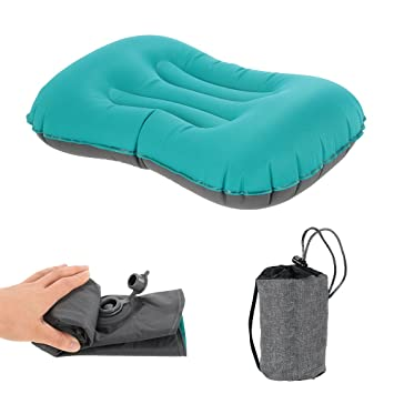 Lixada Inflatable Camping Pillow