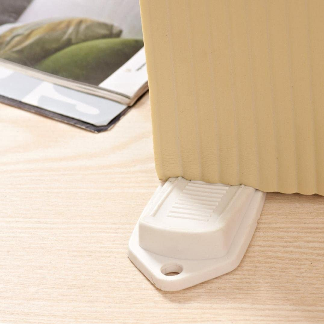 Large Rubber Door Stopper Wedge Door Jam Catcher Block Home Office White Grey TM Clearance Sale!DEESEE White