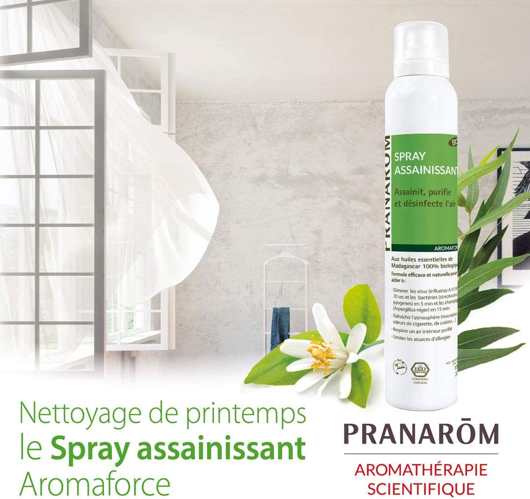 Pranarôm – Aromaforce – Spray assainissant Bio (Eco) – 150 ml ...