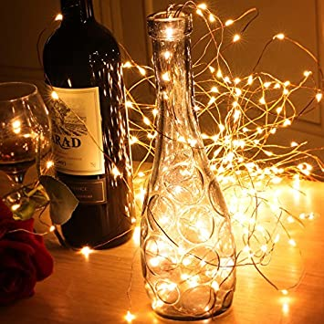 LED Multi Strand Fairy String Lights Warm White LIIDA 6.6FT 300 Micro Led Lights 15 Strings in Bunch for Home Party Holiday Chrismas Tree Decoration