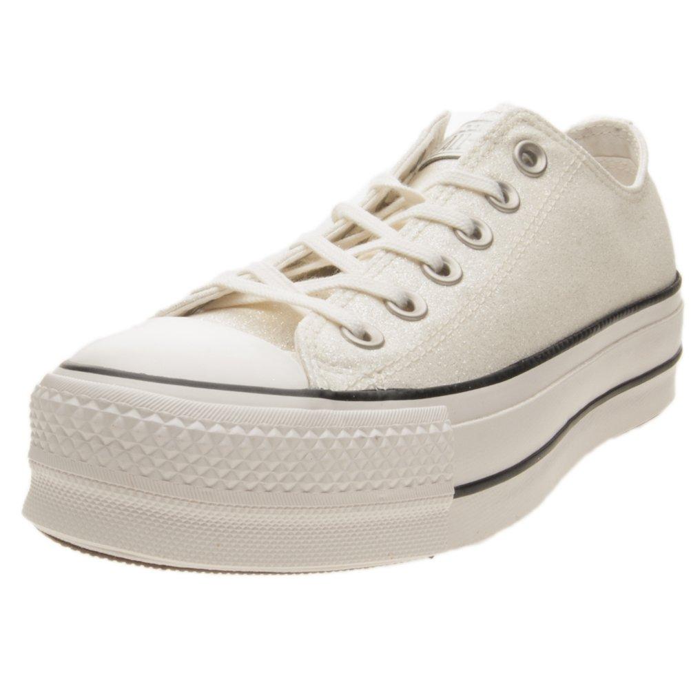 Converse CTAS Ox Clean Lift Schuhe Damen Weiszlig;  39|Bianco