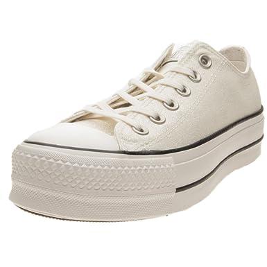 Converse CTAS Ox Clean Lift Schuhe Damen Weiß