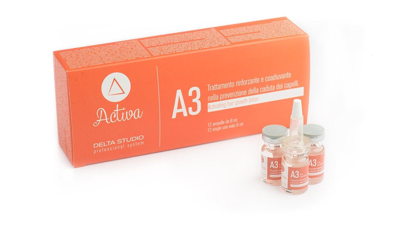 A3 Trattamento Attivante (12 fiale x 6 ml): Amazon.es: Belleza