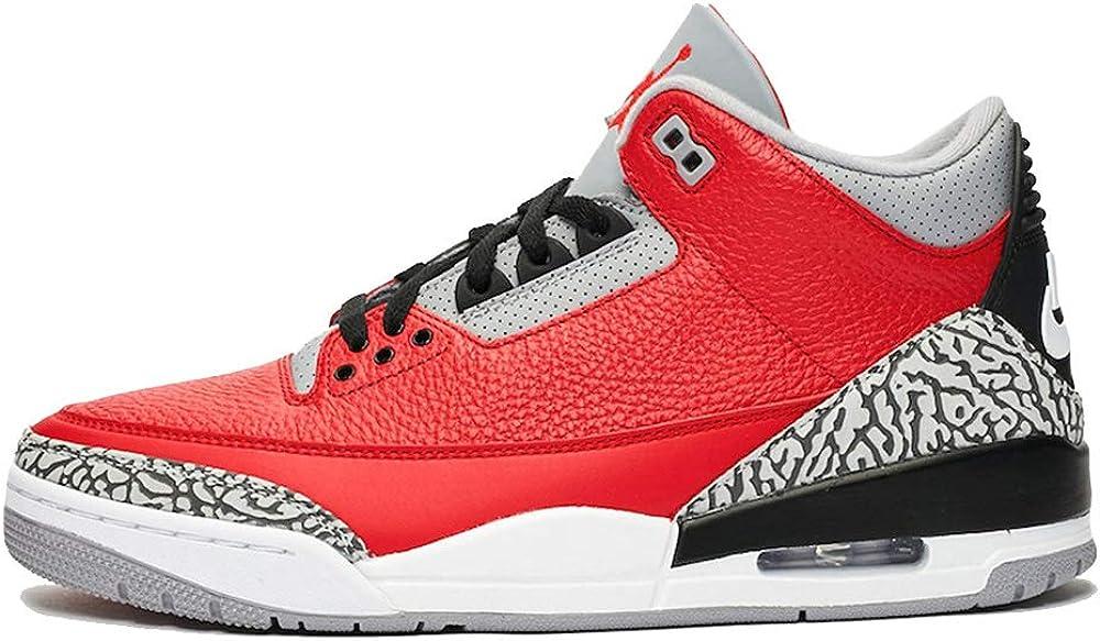 B0854DW9YS Nike Air Jordan 3 Retro Se Mens Basketball Fashion Running Shoes Ck5692-600 Size 8.5 61ONji1mKLL.UL1000_