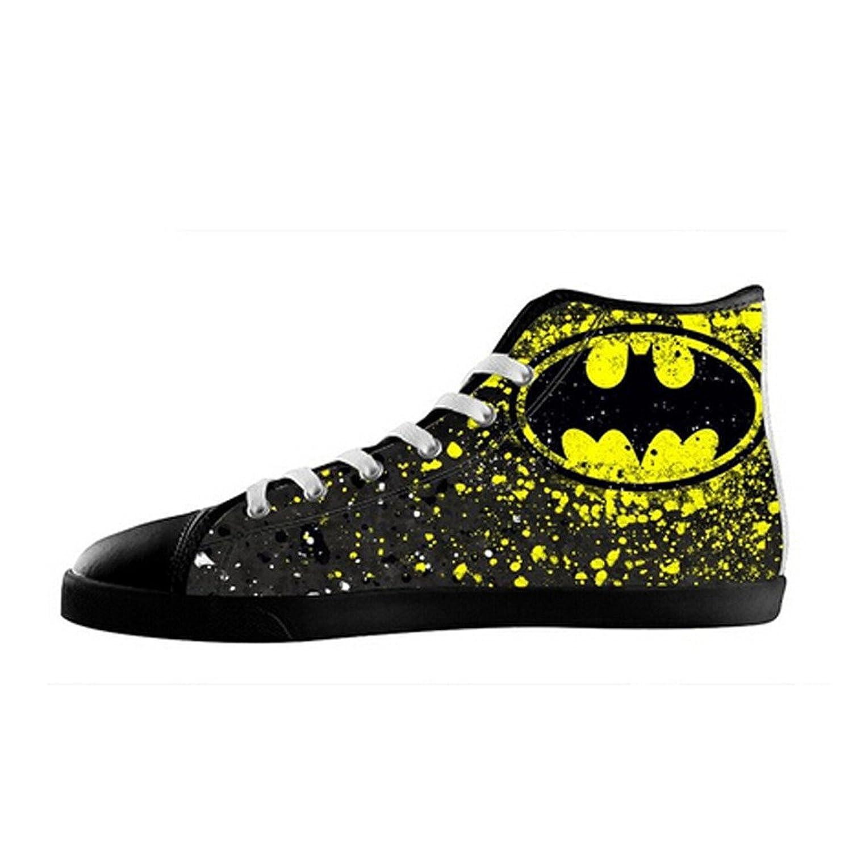 966ba0060c5de cheap Custom Men Batman Canvas Shoes High Top Sneakers - lmtxjt ...
