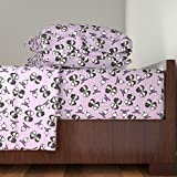 Roostery Marriage 4pc Sheet Set Mawidge by Studiofibonacci King Sheet Set made with