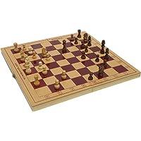 Wood O Plast Chess Box Set, Multi Color (12-inch)