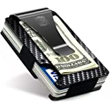 SLIM & MINIMALIST DESIGN Compared to traditional wallets, the Oyomba Carbon Fiber Wallet features a modern and thin design; It can easily hold up to 8-12 cards, making it a great organizer for your credit cards, debit cards, id cards and driver's license