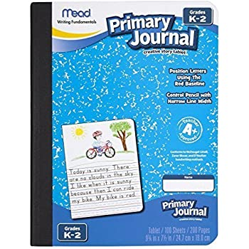CASE OF 6 Mead Primary Journal Creative Story Tablet, Grades K-2 (09554)