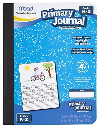 Mead Primary Journal Creative Story Tablet, Grades K-2, Case of 6