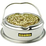 Give Away Anti-Skid mat;Soldering Iron Tip Cleaner with Brass Wire Sponge, No Water Needed;2pcs Brass Wire Curls