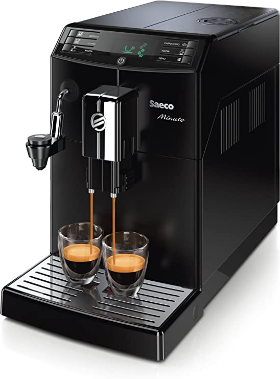 Philips Saeco Minuto - Cafetera automática espresso, con espumador ...