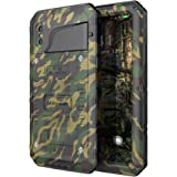 Wateproof Case for iPhone X, Mitywah Heavy Duty Hard Strong Metal Cover with Screen Full Body Protector Shockproof Tough Rugged Durable Military Grade Defender for Outdoor Sports,Camo (Camouflage