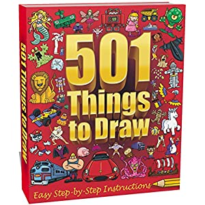 How to draw 501 things for boys easy step by step instructions.