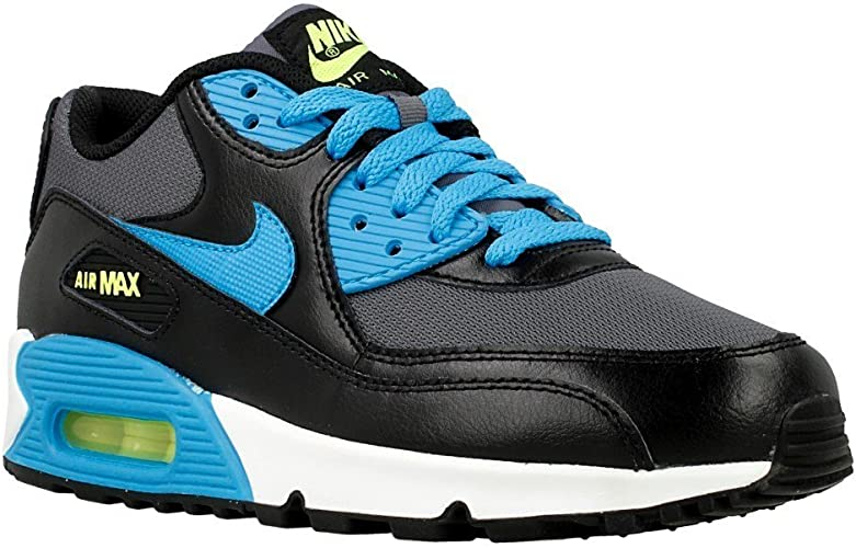 Nike Air Max 90 Mesh (GS), Chaussures de Running pour