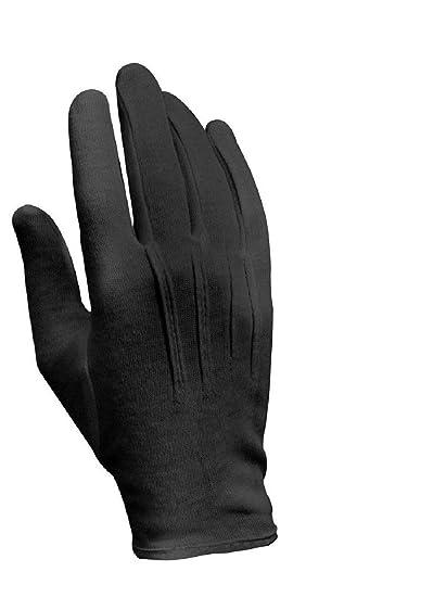 Amazon Dress Parade Gloves Black Military Cotton Sports