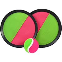 Toy CubbyVelcro ball Paddle Catch and Toss Game