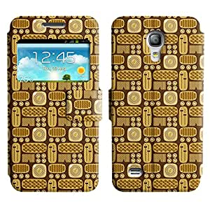LEOCASE cosas surtidos Funda Carcasa Cuero Tapa Case Para Samsung Galaxy S4 Mini I9190 No.1003230